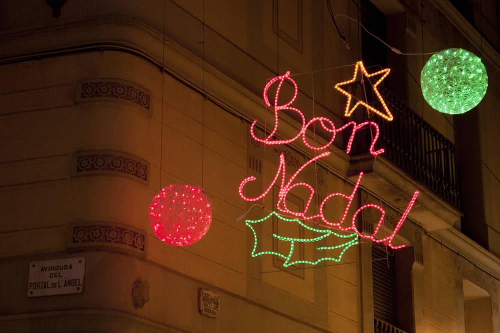Navidades en Barcelona